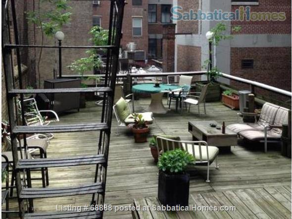 Classic Manhattan Loft w/ view and large outdoor terrace Home Rental in New York, New York, United States 9