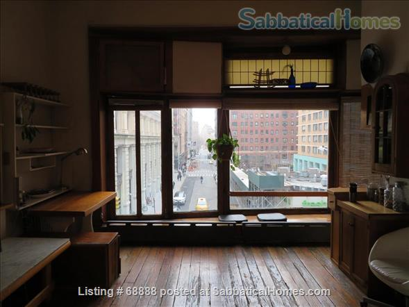 Classic Manhattan Loft w/ view and large outdoor terrace Home Rental in New York, New York, United States 8