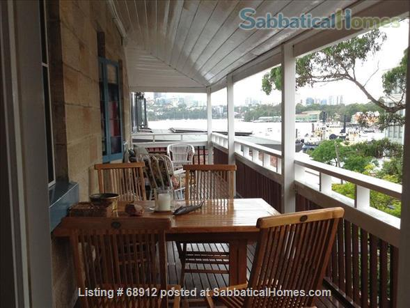 A lovely historic home in Balmain overlooking the harbour and close to the city  Home Exchange in Balmain, NSW, Australia 0