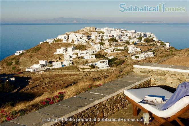 Luxurious Villa on Sifnos, the Jewel of the Cycladic Islands Home Rental in Kastro, , Greece 1