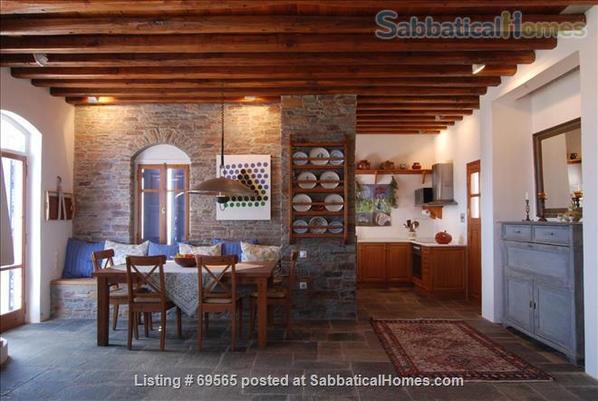Luxurious Villa on Sifnos, the Jewel of the Cycladic Islands Home Rental in Kastro, , Greece 4
