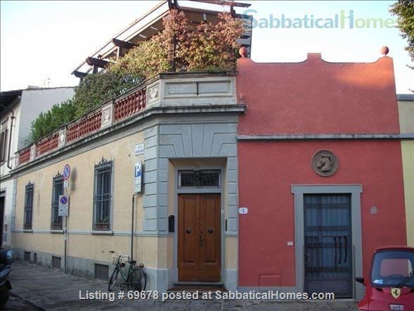 2+ bedroom house with large rooftop terrace in a real Florentine neighborhood Home Rental in Florence, Toscana, Italy 0