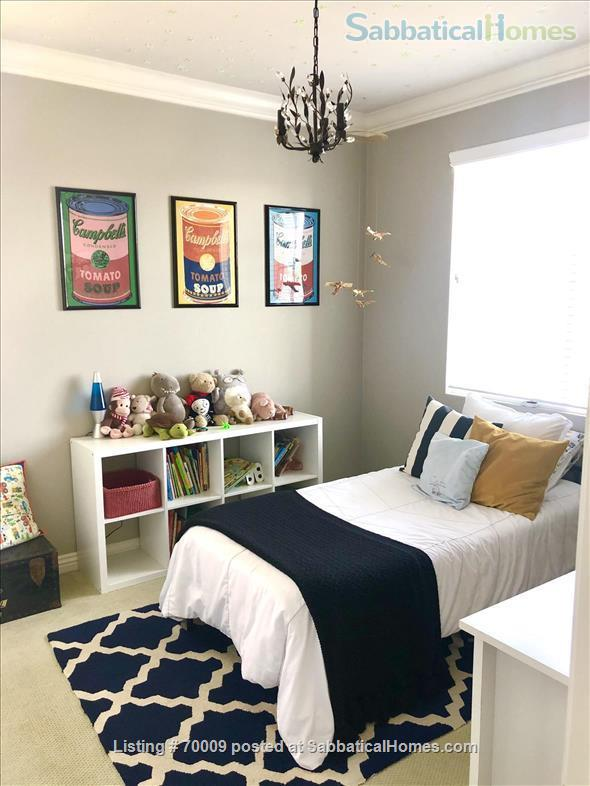 Bright, family-friendly, 4-bedroom furnished home at UCI - Great for children Home Rental in Irvine, California, United States 3
