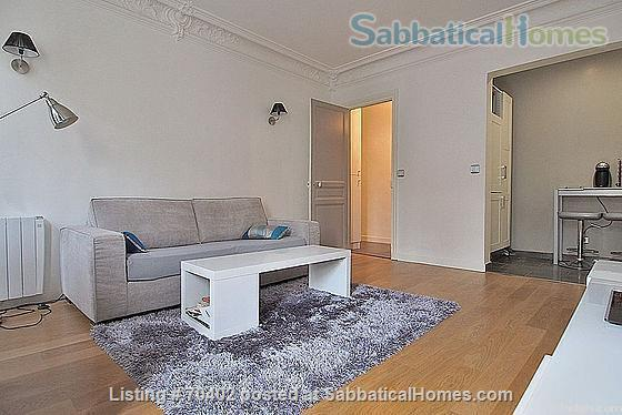 Paris, Luxembourg garden,  a modern & quiet 2 rooms Home Rental in Paris 0