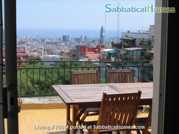 two bed-room apartment with big terrace to rent Home Rental in Barcelona, CT, Spain 2