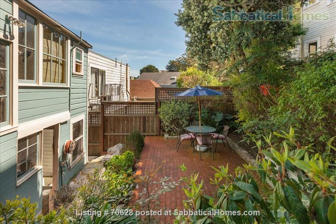 Quiet, charming, furnished, pet friendly 1 BR apt. in Eureka Valley/Upper Castro Home Rental in San Francisco, California, United States 9