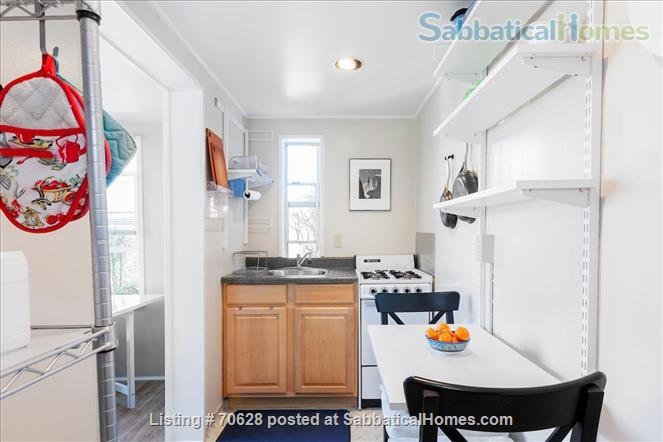 Quiet, charming, furnished, pet friendly 1 BR apt. in Eureka Valley/Upper Castro Home Rental in San Francisco, California, United States 6