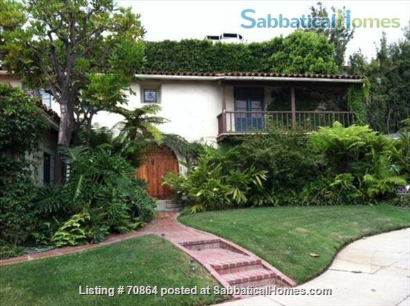 Spanish-style house with tranquil garden near UCLA Home Rental in Los Angeles, California, United States 0