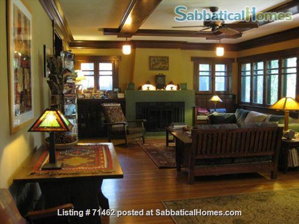 Beautiful Historic Craftsman Home in Pasadena / near Huntington Library, Caltech, Occidental, Art Center, PCC Home Exchange in Pasadena, California, United States 1