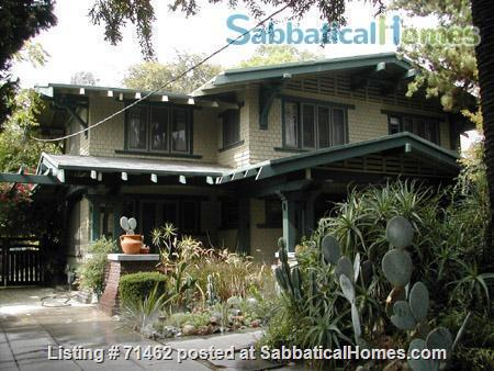 Beautiful Historic Craftsman Home in Pasadena / near Huntington Library, Caltech, Occidental, Art Center, PCC Home Exchange in Pasadena, California, United States 0