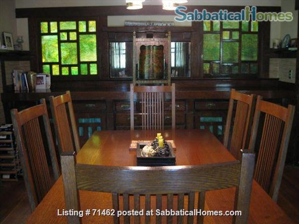 Beautiful Historic Craftsman Home in Pasadena / near Huntington Library, Caltech, Occidental, Art Center, PCC Home Exchange in Pasadena, California, United States 2