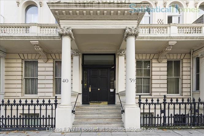 Airy studio apartment in one of London's most  delightful and prestigious streets Home Rental in South Kensington, England, United Kingdom 0