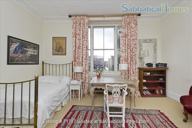 Airy studio apartment in one of London's most  delightful and prestigious streets Home Rental in South Kensington, England, United Kingdom 7