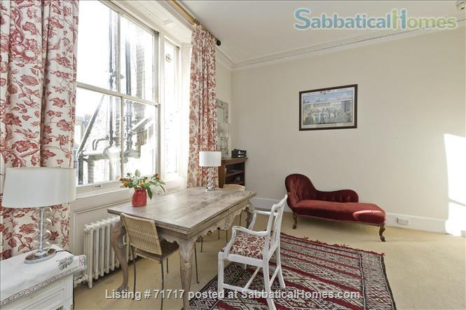 Airy studio apartment in one of London's most  delightful and prestigious streets Home Rental in South Kensington, England, United Kingdom 8