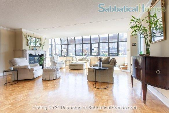 UWS Oversized 1-bed Penthouse with terrace, W/D, fireplace, gym, 1 block from Central Park Home Rental in New York, New York, United States 1
