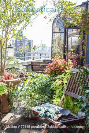 UWS Oversized 1-bed Penthouse with terrace, W/D, fireplace, gym, 1 block from Central Park Home Rental in New York, New York, United States 6