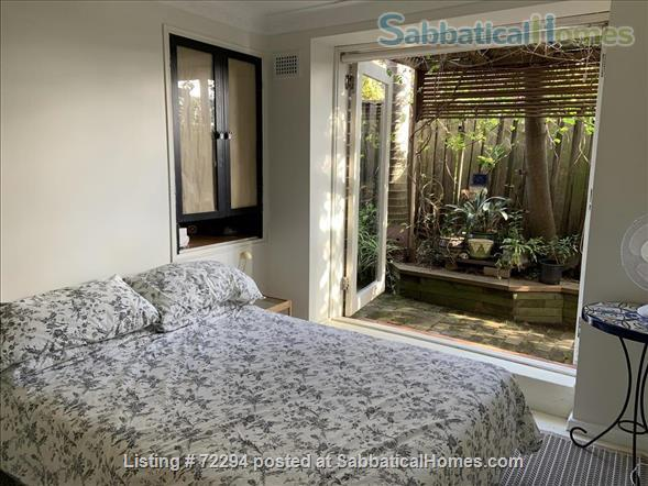 Sunny garden apartment in  inner Sydney  Home Rental in Haberfield, New South Wales, Australia 2