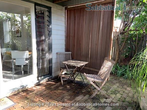 Sunny garden apartment in  inner Sydney  Home Rental in Haberfield, New South Wales, Australia 6