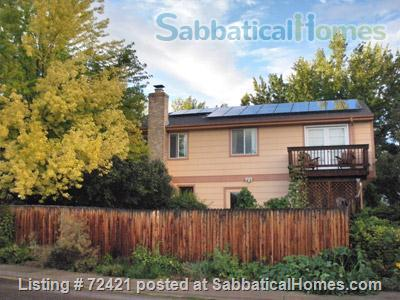 Furnished 4BR, 2.5BA Louisville Eco Home, Includes Gardens, Utilities, Cable, WiFi Home Rental in Louisville, Colorado, United States 1