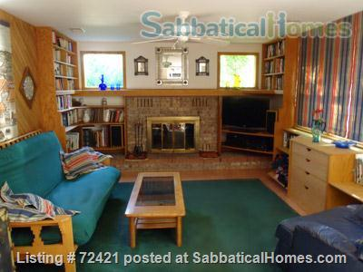 Furnished 4BR, 2.5BA Louisville Eco Home, Includes Gardens, Utilities, Cable, WiFi Home Rental in Louisville, Colorado, United States 4