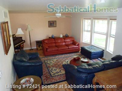 Furnished 4BR, 2.5BA Louisville Eco Home, Includes Gardens, Utilities, Cable, WiFi Home Rental in Louisville, Colorado, United States 2