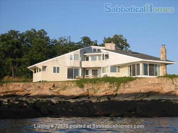 SPECTACULAR WATERFRONT BRANFORD CT  Home Rental in Branford, Connecticut, United States 1