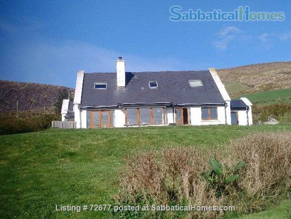 Spacious house in Ireland on hillside overlooking Atlantic Home Rental in , County Kerry, Ireland 1