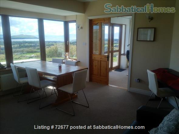 Spacious house in Ireland on hillside overlooking Atlantic Home Rental in , County Kerry, Ireland 0