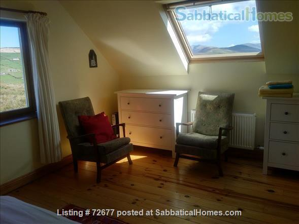 Spacious house in Ireland on hillside overlooking Atlantic Home Rental in , County Kerry, Ireland 4