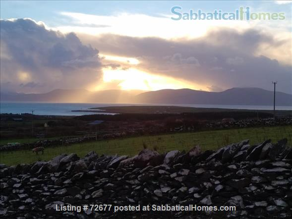 Spacious house in Ireland on hillside overlooking Atlantic Home Rental in , County Kerry, Ireland 6