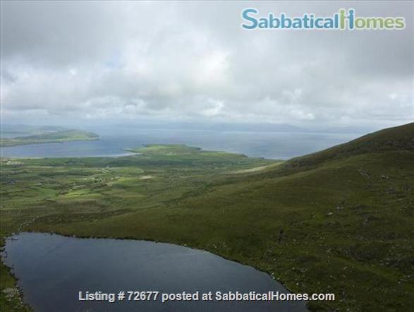 Spacious house in Ireland on hillside overlooking Atlantic Home Rental in , County Kerry, Ireland 7