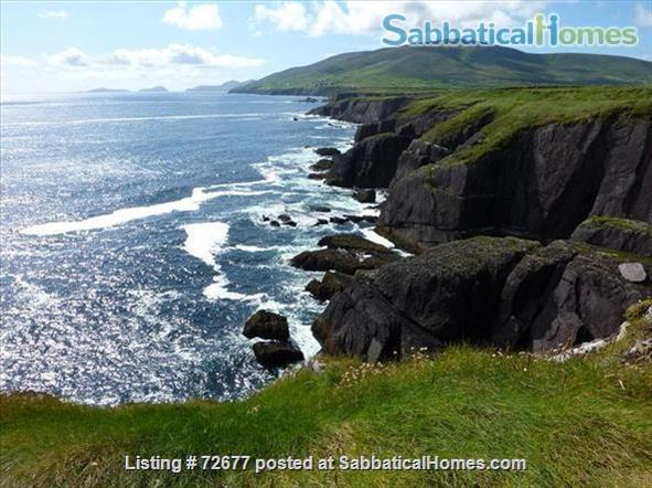 Spacious house in Ireland on hillside overlooking Atlantic Home Rental in , County Kerry, Ireland 8