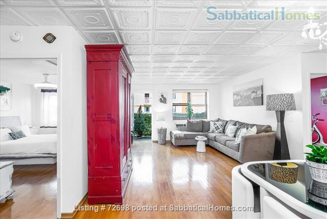 Large 2-bedroom Apartment with Balcony in Manhattan, Short Walk to Central Park Home Rental in New York, New York, United States 1