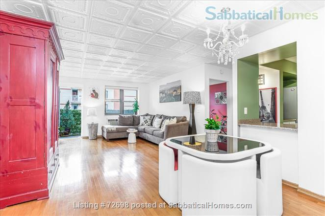 Large 2-bedroom Apartment with Balcony in Manhattan, Short Walk to Central Park Home Rental in New York, New York, United States 0