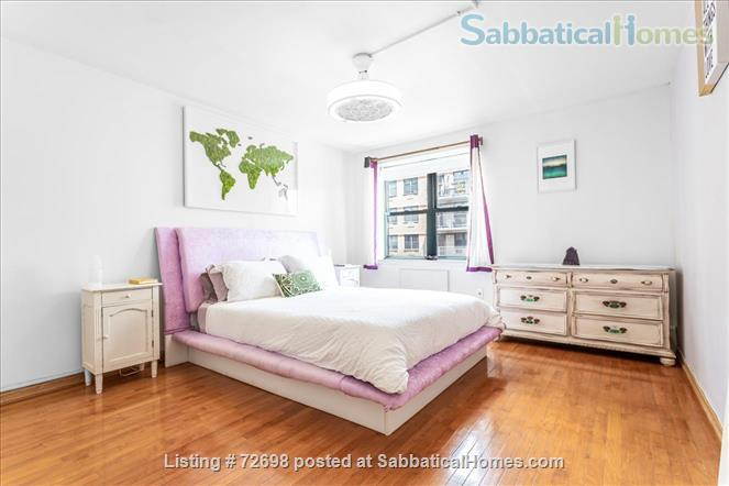 Large 2-bedroom Apartment with Balcony in Manhattan, Short Walk to Central Park Home Rental in New York, New York, United States 4