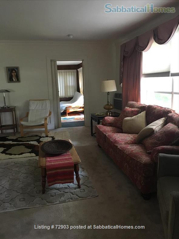 Large furnished lower flat available  June 26, 2021.  $3,100.00   Home Rental in Newton, Massachusetts, United States 4