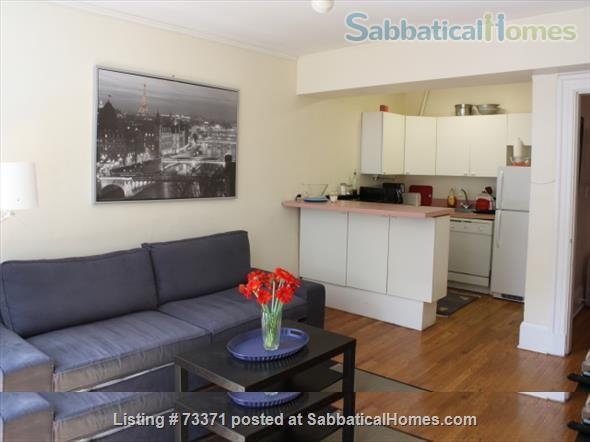 Furnished, one bedroom garden apartment Beacon Hill Boston $2800, adjacent parking possible Home Rental in Boston, Massachusetts, United States 1