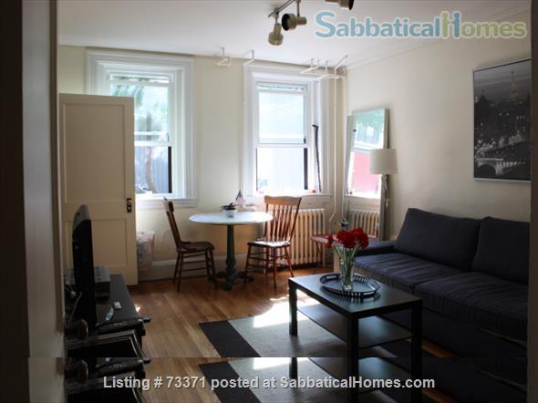 Furnished, one bedroom garden apartment Beacon Hill Boston $2800, adjacent parking possible Home Rental in Boston, Massachusetts, United States 0
