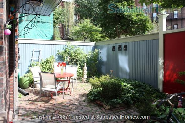 Furnished, one bedroom garden apartment Beacon Hill Boston $2800, adjacent parking possible Home Rental in Boston, Massachusetts, United States 2