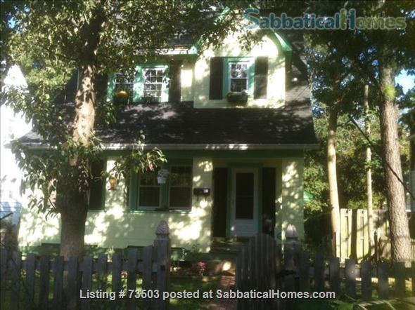 Charming four bedroom cottage in Baltimore; ideal for visiting professor Home Rental in Baltimore, Maryland, United States 1