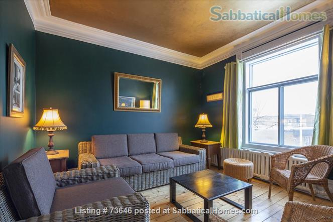 Nine  classic furnished apartments, all inclusive,  in the heart of Plateau Mont-Royal Home Rental in Montréal, Québec, Canada 0