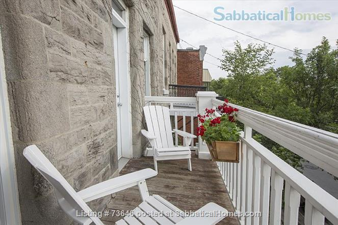 Nine  classic furnished apartments, all inclusive,  in the heart of Plateau Mont-Royal Home Rental in Montréal, Québec, Canada 8