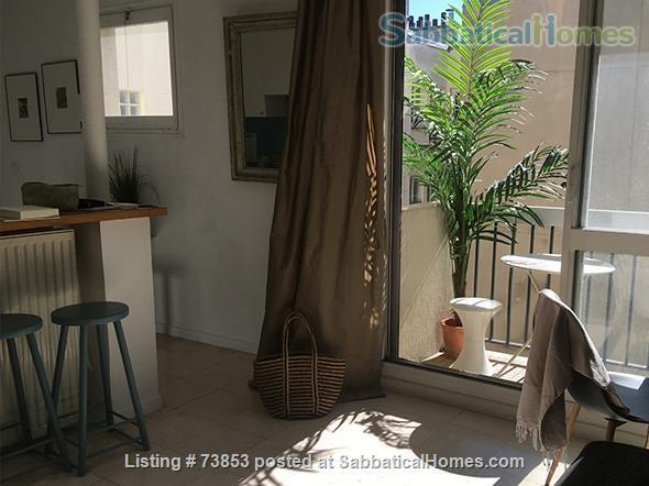 BASTILLE, LE MARAIS... sunny, calm. Home Rental in Paris 2