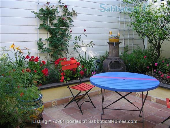 GARDEN APARTMENT-FULLY FURNISHED, CLOSE TO UC BERKELEY Home Rental in Oakland, California, United States 3