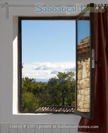 Peaceful 3 bedroom house with garden in a hamlet in Luberon, Provence  Home Rental in Saint-Martin-de-Castillon, PACA, France 0