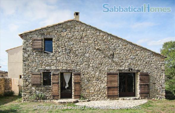 Peaceful 3 bedroom house with garden in a hamlet in Luberon, Provence  Home Rental in Saint-Martin-de-Castillon, PACA, France 3