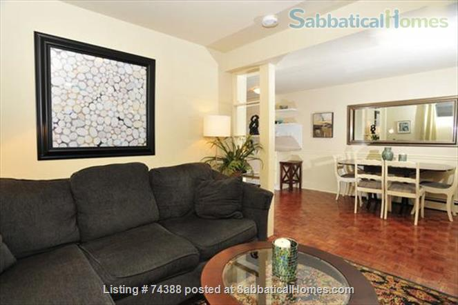 Beautiful 2 Bedroom newly renovated lower level apartment. Professionally designed and decorated. Home Exchange in Toronto, Ontario, Canada 2