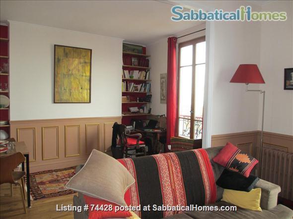 Typically parisian two rooms apartment Home Rental in Paris, Île-de-France, France 3