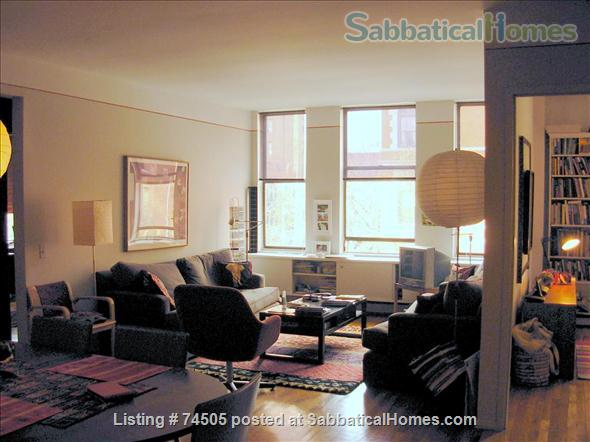 Ideally located 3-BR apartment near Central Park Home Exchange in New York, New York, United States 1