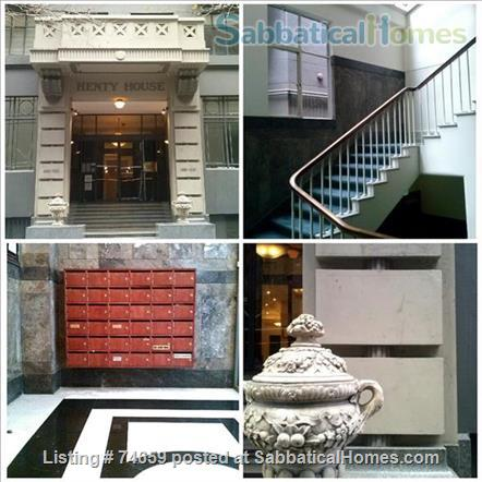Melbourne City:   Fully furnished Art Deco apartment (Excellent reviews) Home Rental in Melbourne, VIC, Australia 0